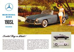 Mercedes-Benz 190SL Roadster | Print Ads