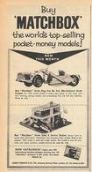 Buy 'Matchbox' The World's Top-Selling Pocket-Money Models! | Print Ads