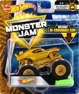 Hot Wheels | Model Trucks | Hot Wheels Monster Jam Golden machines Hot Wheel Light Gold