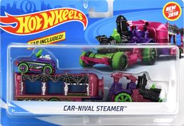 Car-Nival Steamer | Model Vehicle Sets | Hot Wheels Heavy Haulers Car-Nival Steamer