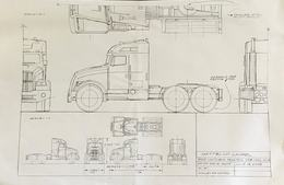 2005 Matchbox Tractor Cab CTRL. Drawing | Drawings & Paintings