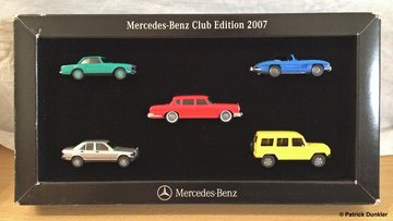 Mercedes-Benz Club Edition 2007 | Model Vehicle Sets