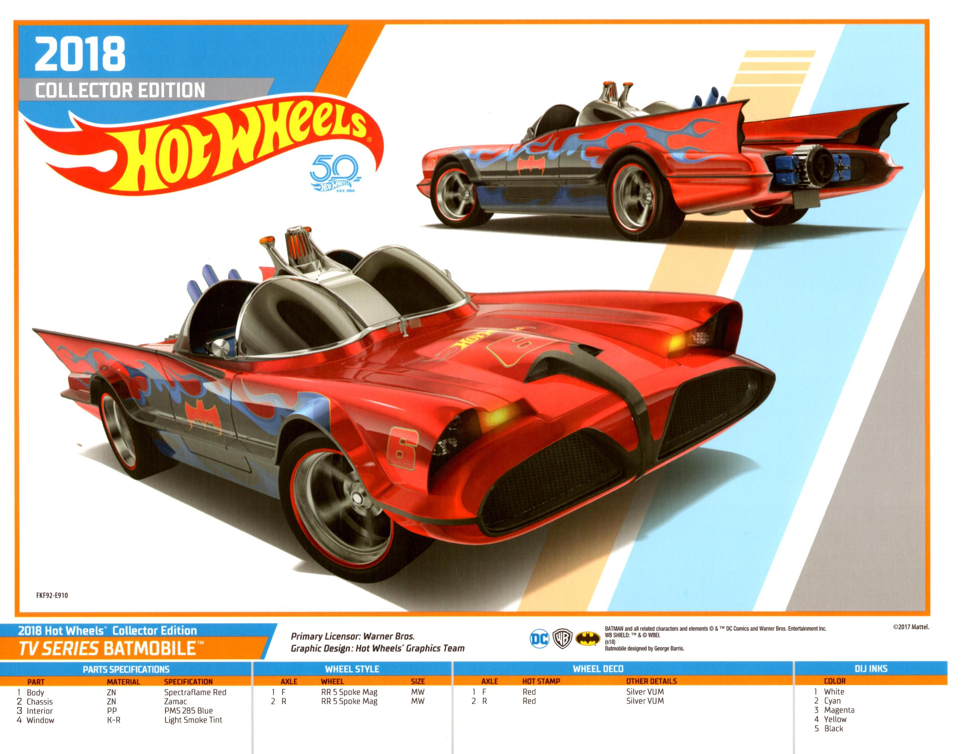 Hot Wheels Collectors Edition E-Sheet   Posters and Prints ...