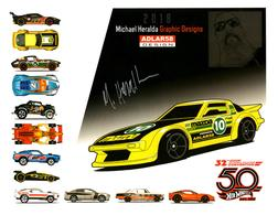 32nd Annual Hot Wheels Collectors  Convention Autograph Sheets | Posters & Prints | Hot Wheels 32nd Annual Hot Wheels Collectors Convention Mazda RX-7 Michael Heralda
