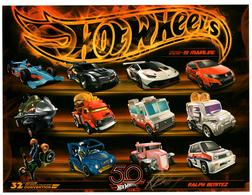 32nd Annual Hot Wheels Collectors  Convention Autograph Sheets | Posters & Prints | Hot Wheels 32nd Annual Collectors Convention Hot Wheels Mainlines Ralph Benitez