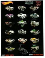 32nd Annual Hot Wheels Collectors  Convention Autograph Sheets | Posters & Prints | Hot Wheels 32nd Annual Collectors Convention 2017 Zamac Series Jerry Thienprasiddhi