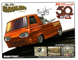 32nd Annual Hot Wheels Collectors  Convention Autograph Sheets | Posters & Prints | Hot Wheels 32nd Annual Collectors Convention Hi-Po Hauler Gas Monkey Brendon Vetuskey
