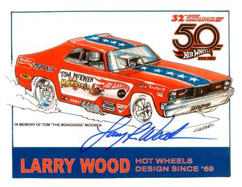 32nd Annual Hot Wheels Collectors  Convention Autograph Sheets | Posters & Prints | Hot Wheels 32nd Annual Collectors Convention Mongoose Funny Car Larry Wood