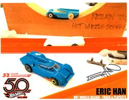 32nd Annual Hot Wheels Collectors  Convention Autograph Sheets | Posters & Prints | Hot Wheels 32nd Annual Collectors Convention Hot Wheels Design Eric Han