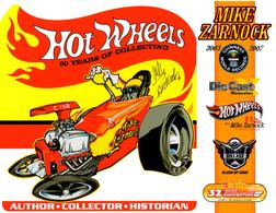 32nd Annual Hot Wheels Collectors  Convention Autograph Sheets | Posters & Prints | Hot Wheels 32nd Annual Collectors Convention Altered State Mike Zarnock