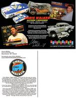 32nd Annual Hot Wheels Collectors  Convention Autograph Sheets | Posters & Prints | Hot Wheels 32nd Annual Collectors Convention Nightstalker Customs Chris Walker