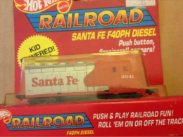 Santa Fe F40PH Diesel | Model Trains (Locomotives)