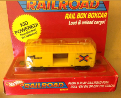 Rail Box Boxcar | Model Trains (Rolling Stock)