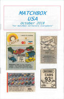 Matchbox USA Magazine October 2018 | Magazines & Periodicals