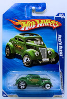 Pass' n Gasser | Model Cars | HW 2010 - Collector # 104/240 - HW Performance 6/10 - Pass'n Gasser - Green - USA Card - Tampo ERROR - Missing the Black