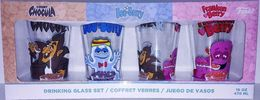 Count Chocula, Boo-Berry, Franken Berry Drinking Glass Set | Glasses & Barware