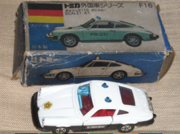 Porsche 911S Patrol Car | Model Cars