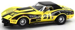 '76 Mancuso Chevrolet Corvette | Slot Cars | 76 Mancuso C3 Corvette Slot Car Racer
