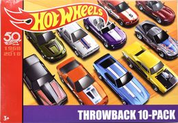 Throwback 10-Pack | Model Vehicle Sets | Hot Wheels 2018 Throwback 10-Pack