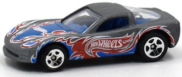 C6 Corvette | Model Cars | Hot Wheels Throwback 10-Pack C6 Corvette