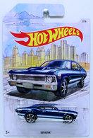 '68 Nova  | Model Cars | HW 2019 - Detroit Muscle 2/6 - '68 Nova - Blue - Walmart Exclusive