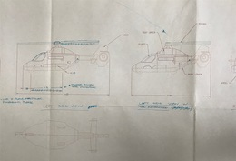2003 Matchbox Coast Guard Helicopter Preliminary Drawing | Drawings & Paintings