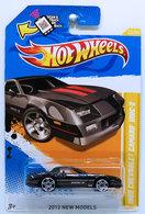 1985 Chevrolet Camaro IROC-Z | Model Cars | HW 2012 - Collector # 022/247 - New Models 22/50 - 1985 Chevrolet Camaro IROC-Z - Black - USA Scan & Track Card - NO Windows