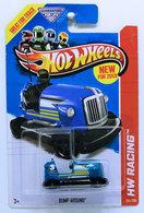 Bump Around | Model Racing Cars | HW 2013 - Collector # 145 - HW Racing / Super Chromes / New Models - Bump Around - Blue - USA Card