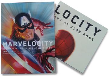 Marvelocity: The Marvel Comics Art of Alex Ross  | Books