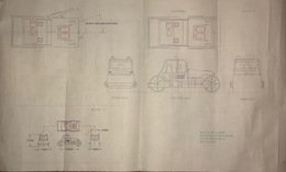 Matchbox Road Roller Control Drawing | Drawings & Paintings