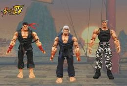 Street Fighter Survival Mode Assortment | Action Figure Sets