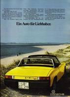 Ein Auto Für Liebhaber. | Print Ads