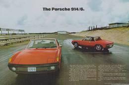 The Porsche 914/6. | Print Ads