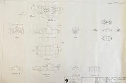 H.O. Ferrari 300 Preliminary Drawing | Drawings & Paintings