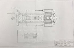 """Matchbox 2005 """"The Ultimate"""" Tow Truck Chassis Preliminary Drawing 