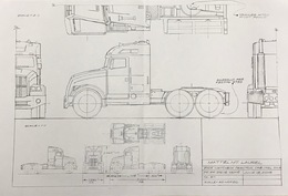 Matchbox 2005 Tractor Cab Control Drawing | Drawings & Paintings
