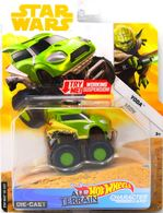 Yoda | Model Cars | Hot Wheels Star Wars All-Terrain Character Cars Yoda