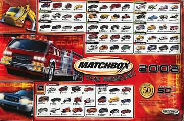 2002 Matchbox Hero City Collection | Posters & Prints