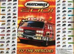 2001 Matchbox Hero City Collection | Posters & Prints