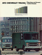 1972 Chevrolet Trucks / Step-Vans and Forward Control Chassis | Brochures & Catalogs