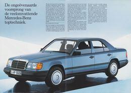 De Ongeëvenaarde Voorsprong Van De Veelomvattende Mercedes-Benz Toptechniek. | Print Ads