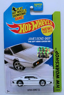 Lotus Esprit S1 | Model Cars | HW 2015 - Collector # 219/250 - HW Workshop / HW Garage - Lotus Esprit S1 - White - USA Card -  Factory Set Sticker