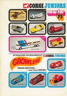 Corgi Juniors Trade Catalog 1975   Brochures & Catalogs   Front