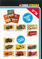 Corgi Juniors Trade Catalog 1974   Brochures & Catalogs   Front