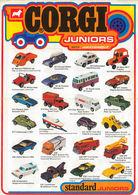 Corgi Juniors Trade Catalog 1972   Brochures & Catalogs   Front