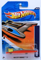 H2GO | Model Ships and Other Watercraft | HW 2011 - Collector # 180/244 - HW City Works 10/10 - H2GO - Gray - USA Card