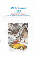 Matchbox USA Magazine November 2018 | Magazines & Periodicals