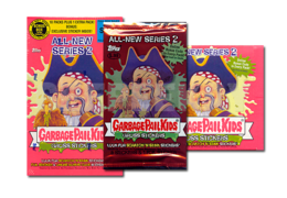 Non-sport Trading Cards Rapture Garbage Pail Kids Flashback 3 Green Parallel Lot Of 62 Cards Ab