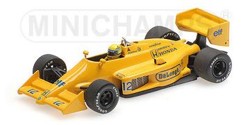 Lotus Honda 99T - Ayrton Senna - Winner Monaco Grand Prix 1987 | Model Racing Cars