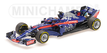 Toro Rosso - Brendon Hartley - Show Car 2018 | Model Racing Cars